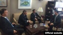 Lideri SNP, CDU i Pozitivne tokom susreta sa zamjenikom pomoćnika američkog državnog sekretara Hojtom Jiem