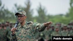 Rais Paul Kagame wa Rwanda.