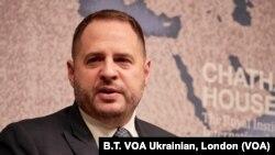 Керівник Офісу президента України Андрій Єрмак