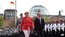 President Thein Sein in Germany