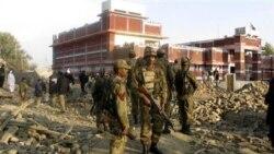 کشته شدن یک پلیس پاکستانی در انفجار