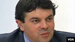 Никола Попоски, министер за надворешни работи на Република Македонија