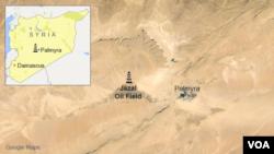 Сирия, нефтяной промысел