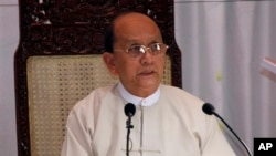 Presiden Myanmar Thein Sein (Foto: dok. AP Photo/Khin Maung Win)