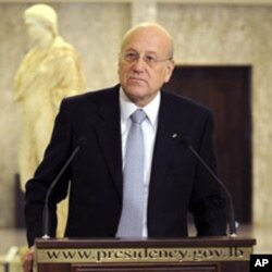 Lebanese Prime Minister Najib Mikati (file photo)