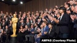 Các diễn viên được đề cử giải Oscar tại buổi tiệc trưa họp mặt thường niên được tổ chức tại Beverly Hills, ngày 2/2/2015.