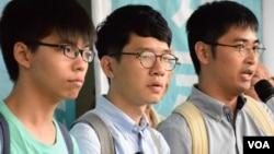 美议员谴责香港判处学运领袖监禁
