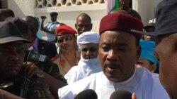 Maître Mossi Boubacar, au micro d'Abdoul-Razak Idrissa à Niamey