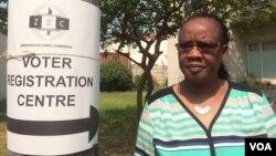 Umbiko wokukhombela lapho okubhaliswa khona kugwalo lokuvota.