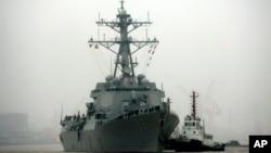 美國海軍拉森號驅逐艦