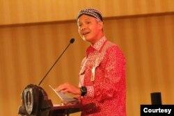 Gubernur Jawa Tengah Ganjar Pranowo saat menghadiri sebuah acara di Solo, Rabu, 26 Februari 2020. (Foto: Pemkot Surakarta)