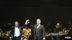 Andrea Bocelli en Washington