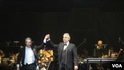 Andrea Bocelli en Washington