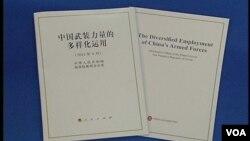中國日前公佈新的國防白皮書