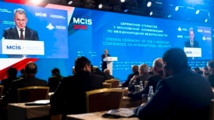 Terrorism was the main theme of the fifth annual Moscow Conference on International Security, hosted by Russia's Defense Ministry, April 27-28, 2016.