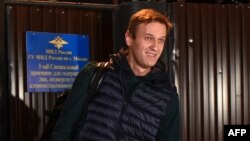 organizing anti-Kremlin protests, his second spell in detention in as many months.