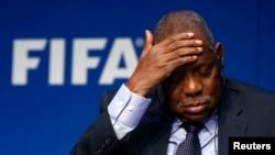 Issa Ayatou, président intérimaire de la FIFA.