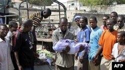 پنج نفر در حمله در نزدیکی کاخ ریاست جمهوری سومالی کشته شدند