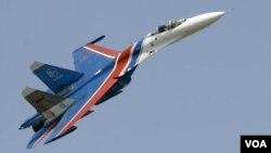 俄羅斯的蘇-27戰機