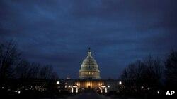 Vistas de Capitol Hill mientras el cierre parcial del gobierno de EE.UU. continúa en Washington D.C., el 30 de diciembre del 2018