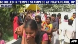 Các vụ dẫm đạp gây chết người thường xảy ra tại các đền thờ ở Ấn Độ, nơi các đám đông lớn thường tụ tập tại các nơi nhỏ hẹp.