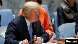 特朗普總統週三主持聯合國安理會會議