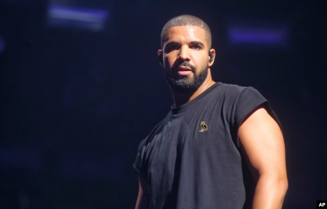 FILE - Drake performs at the Austin City Limits Music Festival in Zilker Park, Oct. 3, 2015, in Austin, Texas.