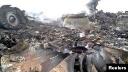 17일 우크라이나 국경 상공을 비행하던 말레이시아 여객기가 미사일을 맞고 도네츠크 인근에 추락했다.