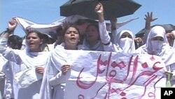 منتظم اعلیٰ کے خلاف نرسوں کے احتجاج میں شدت