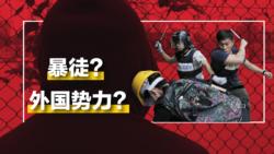 """中国官媒记者:我不责怪他们口中的""""暴徒"""""""