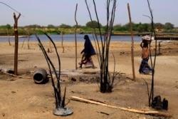 Djidda Oumar, SG du Réseau des Associations des Droits de l'Homme au Tchad, joint par Nathalie Barge