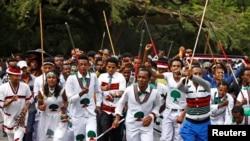 Sherehe za kidini za watu wa Oromia Ethiopia zilizokumbwa na maafa Oktoba 2, 2016