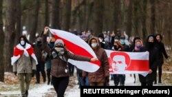 Минск, Беларусь. Акция протеста 13 декабря