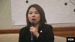 律师公会联合会副秘书长傅馨仪律师