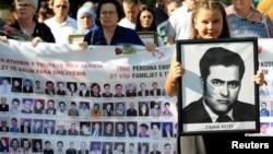 ARHIVA - Obeležavanje Međunarodnog dana nestalih na Kosovu, 30. avgust 2019. (Foto: Rojters/Laura Hasani)