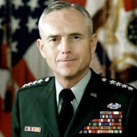 Retired General John Wickham Jr. (file photo)