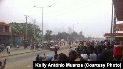 Les activités sont paralysées à Luanda suite à une grève des conducteurs de taxis à Luanda, 5 août 2015