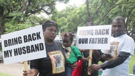 Immuli kaMnu Itai Dzamara (Umfanekiso siwuphiwa nguKumbirai Mafunda oweZimbabwe Lawyers for Humam Rights)