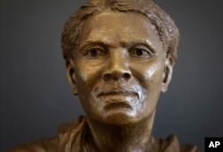A bust of Harriet Tubman stands in the Harriet Tubman Underground Railroad Visitor Center.