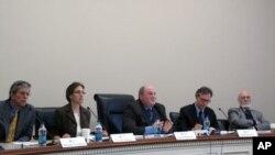 미국 민간 연구기관인 우드로 윌슨 센터가 4일 미국이 직면한 안보 문제와 관련한 세미나를 주최했다.