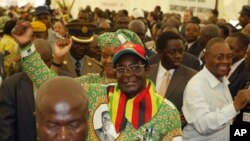 The succession of aging President Robert Mugabe has seriously divided the party. (Photo: AP)