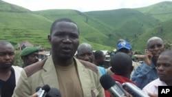 Julien Paluku, le gouverneur du Nord-Kivu, s'entretient avec la presse (archives)
