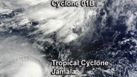 "ႊTropical storm ""One"""