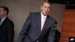 """""""No estoy tan optimista como me gustaría estarlo"""", declaró John Boehner sobre un posible acuerdo para solucionar la crisis fronteriza."""