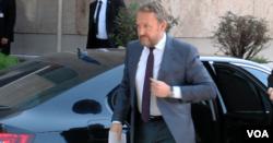 Bakir Izetbegović dolazi na sastanak o Izbornom zakonu BiH, Sarajevo, 5. juni 2018.