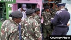Polisi wafanya msako mtaa wa Eastleigh Nairobi April 5, 2014