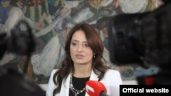 Nela Kuburović, ministarka pravde u Vladi Republike Srbije (Foto: Ministarstvo pravde)