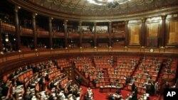 اٹلی کی سینٹ میں اصلاحات کے بل پر رائے شماری