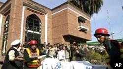 پشاور پریس کلب میں امریکی حکومت کے تعاون سے سکیورٹی نظام کی تعمیر