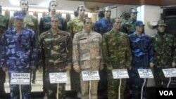 Perusahaan SRITEX di Sukoharjo telah melayani produksi seragam militer untuk 27 negara di dunia.